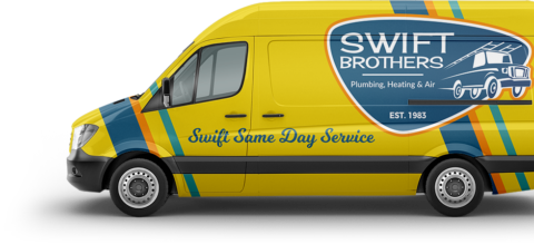 Swift Brothers Van Wrap Flipped